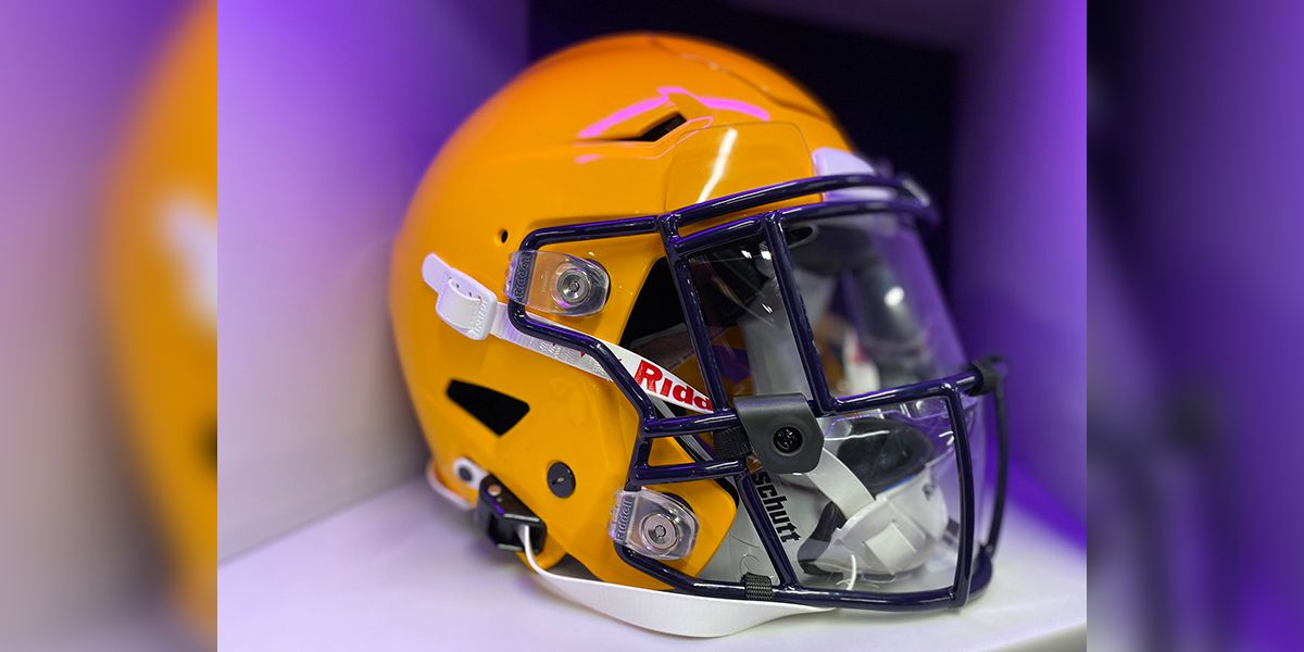 LSU unveils upcoming 'masked up' look with new splash shields