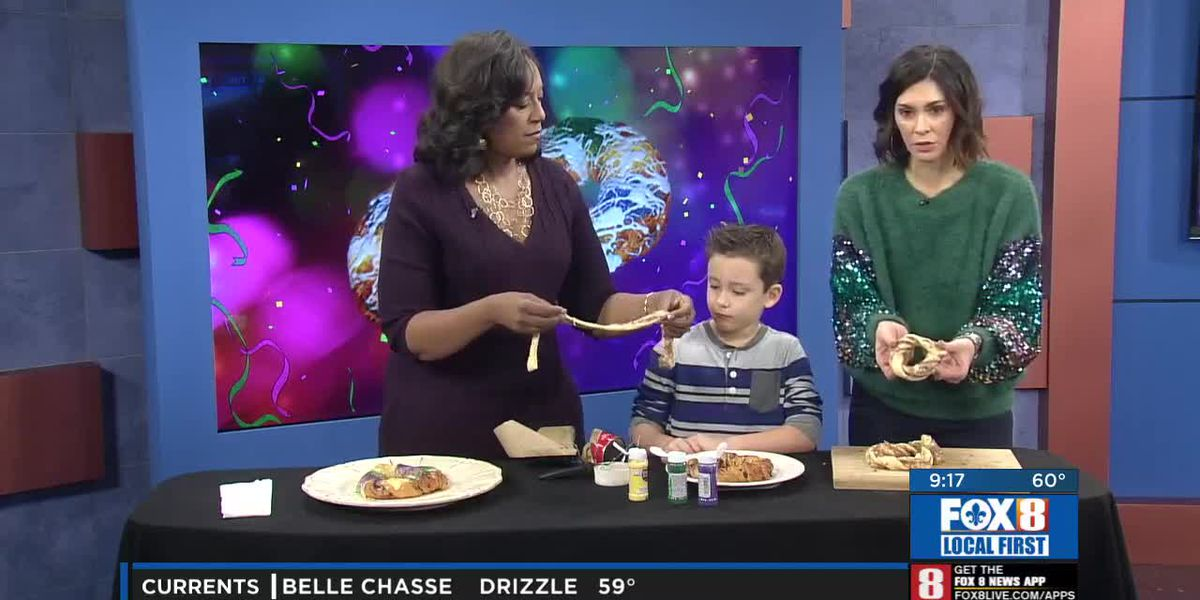 King Cakes with Kids