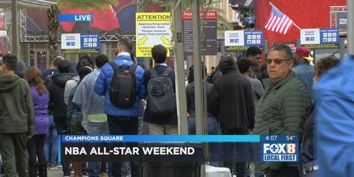 Celebrity game, Rising Star Challenge kick off All Star weekend
