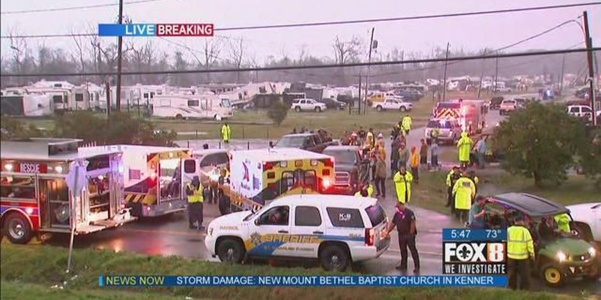 Search and rescue efforts continue at Sugar Mill RV park
