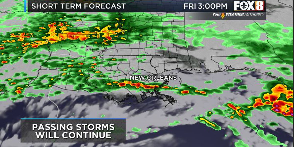 Bruce: More rain and storms to end the week