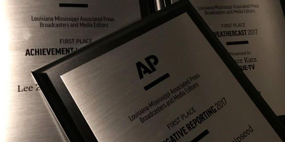 FOX 8 honored with three Louisiana-Mississippi AP Awards