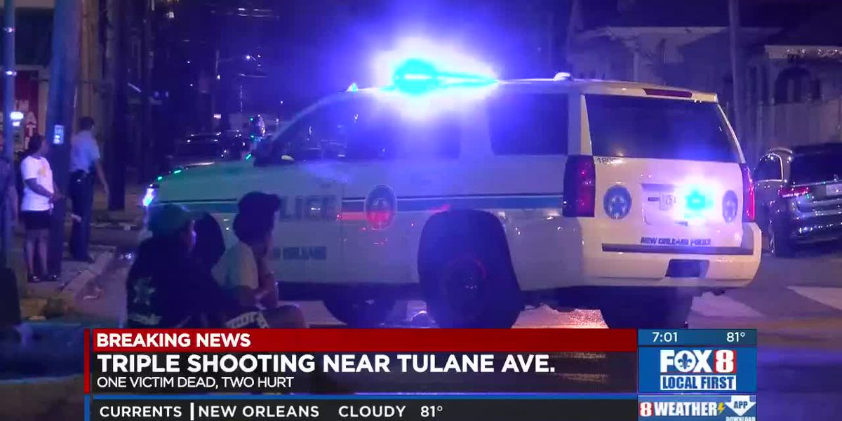 1 killed, 2 shot on Tulane Avenue