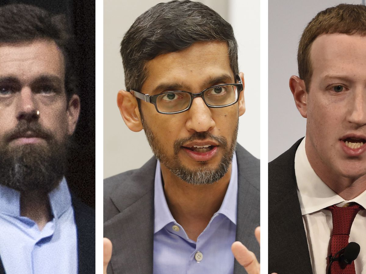 Social media CEOs get earful on bias, warning of new limits