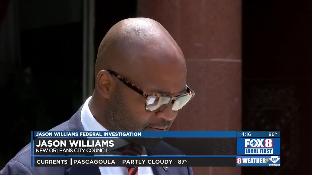 New Orleans Council Member Jason Williams Responds To