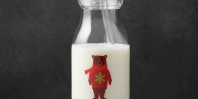 Crate and Barrel recalls 17,000 Holiday Milk Bottles due to laceration hazard