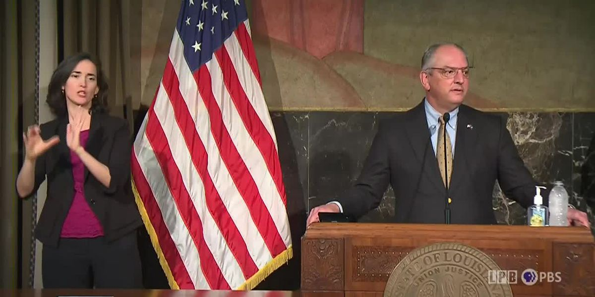 Gov. Edwards files lawsuit defending his COVID-19 public health emergency proclamation