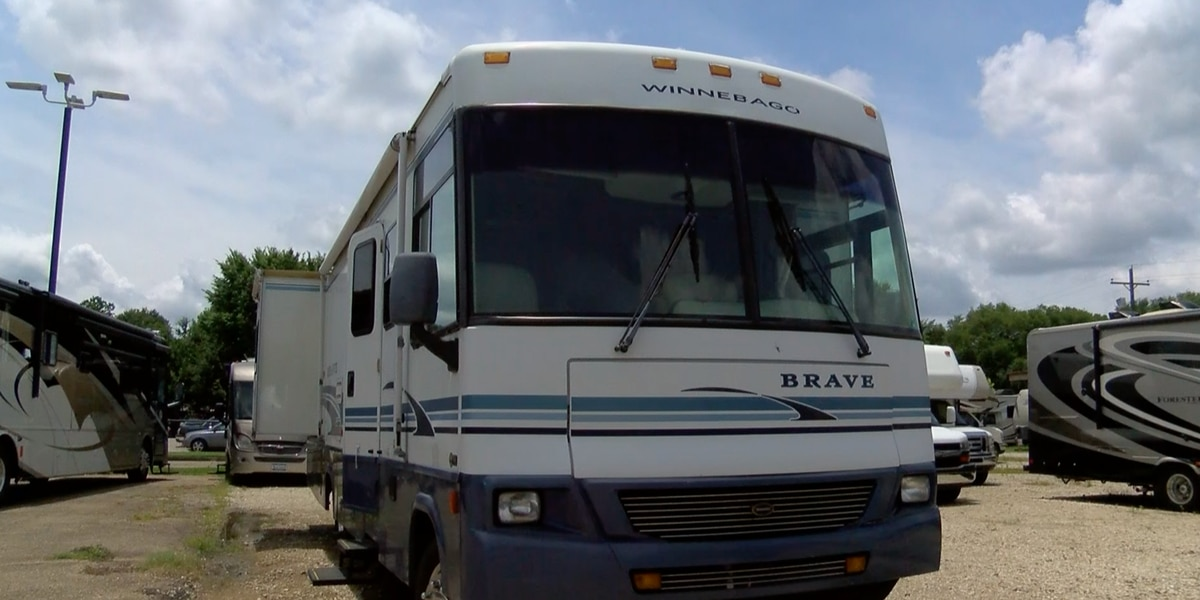 RV sales spike during the pandemic as vacationers take to the open roads
