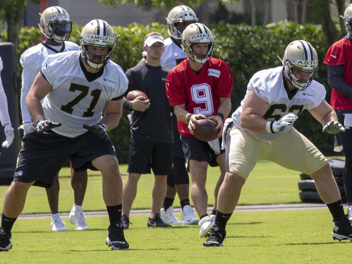 Nick Easton is ready for one of the Saints biggest positional battles