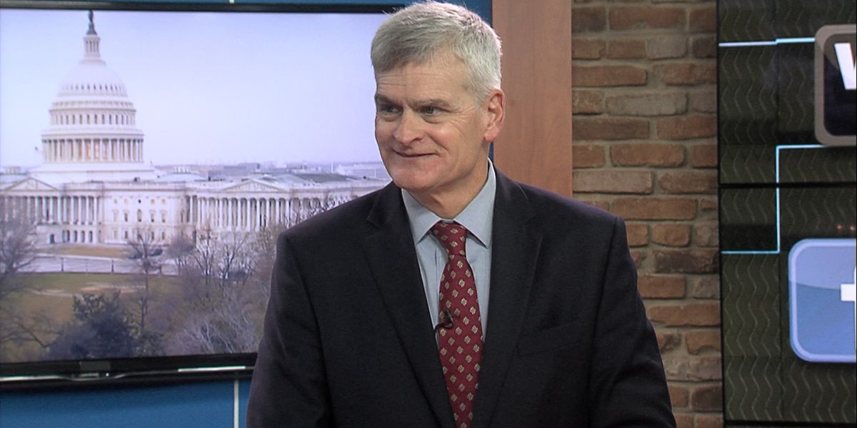 """US Sen. Bill Cassidy: """"There can be common ground on border wall"""""""