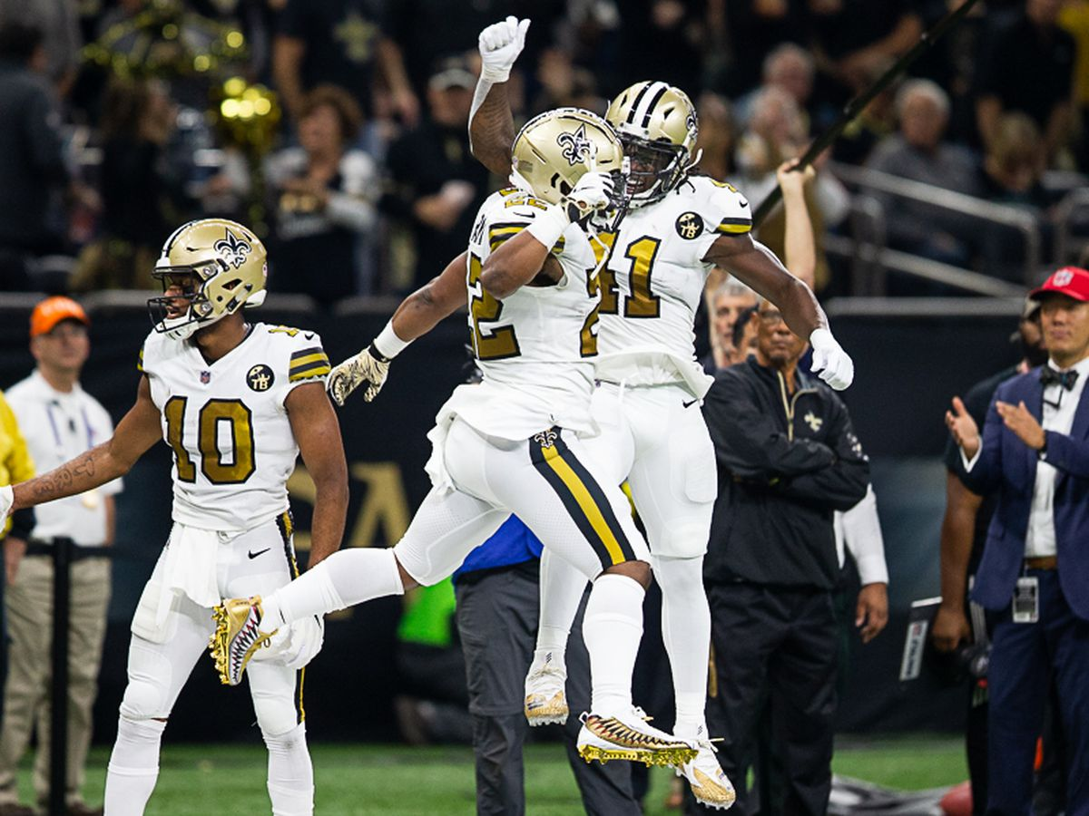 Alvin Kamara on his relationship with Mark Ingram: 'It's like a brotherhood'