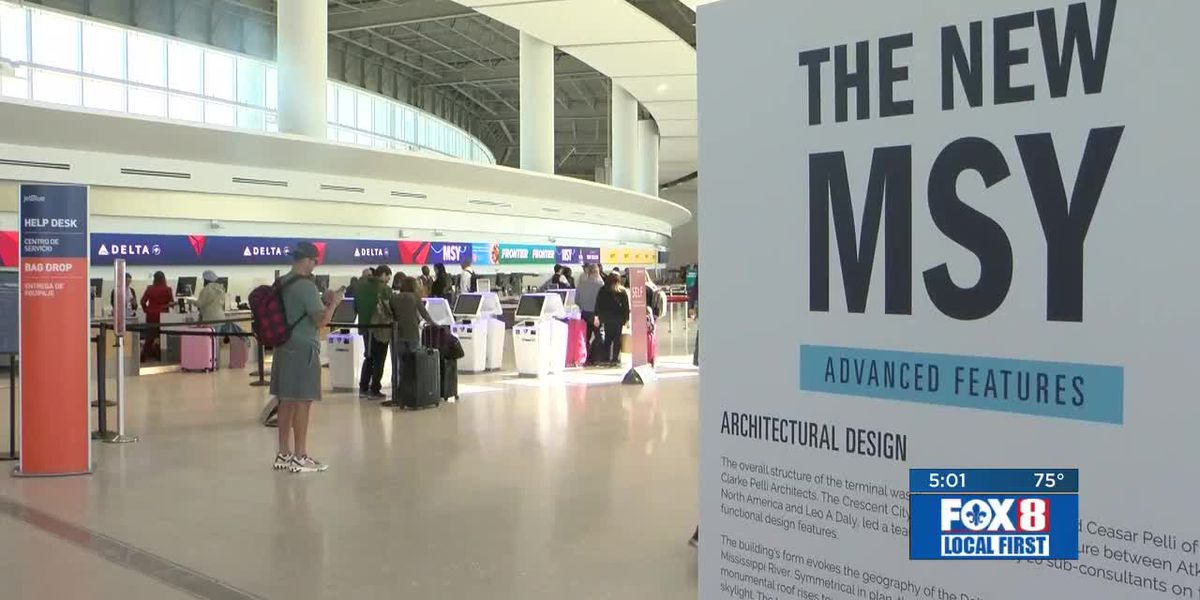 After several delays, new Armstrong International Airport terminal opens