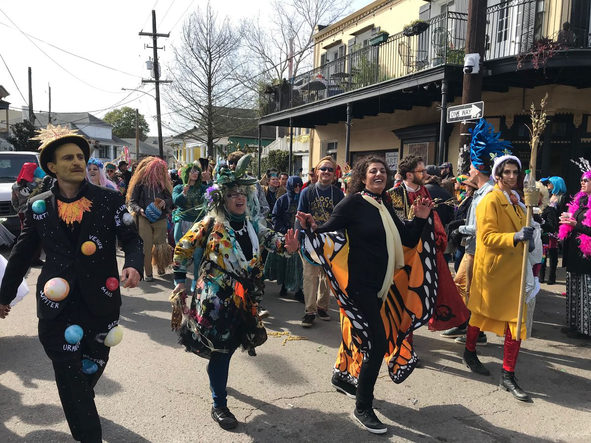 Marigny revelers enjoy Mardi Gras well after parades end