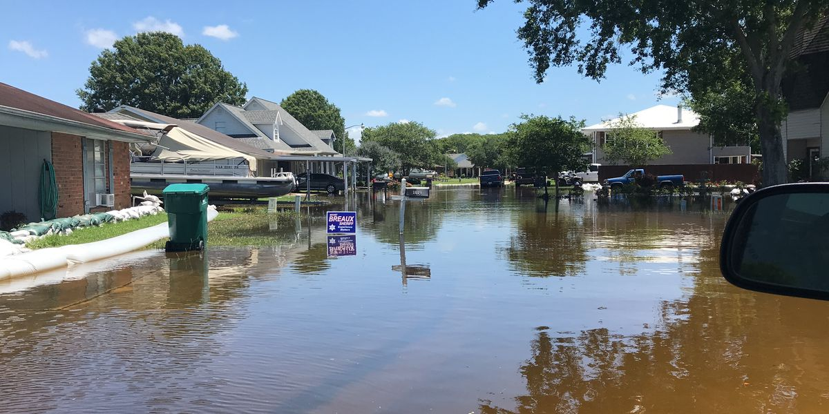 Homes turn into islands in lower St. Martin Parish due to record-breaking flooding