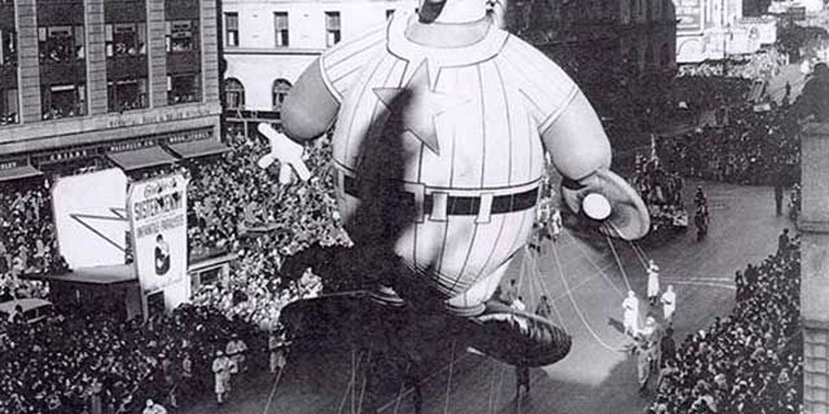 TBT: Macy's Thanksgiving Day Parade, 50 vintage photos