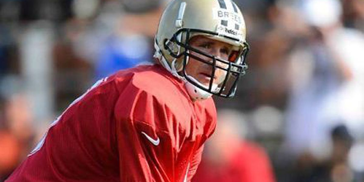 Drew Brees pleased with offensive growth
