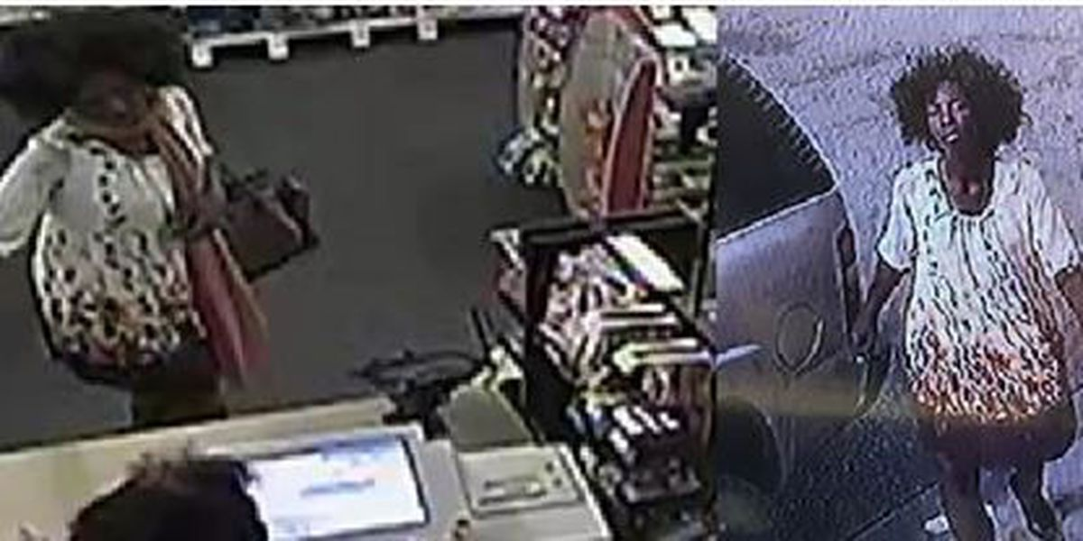 Police search for a woman who used an armed robbery victim's iPhone, debit cards
