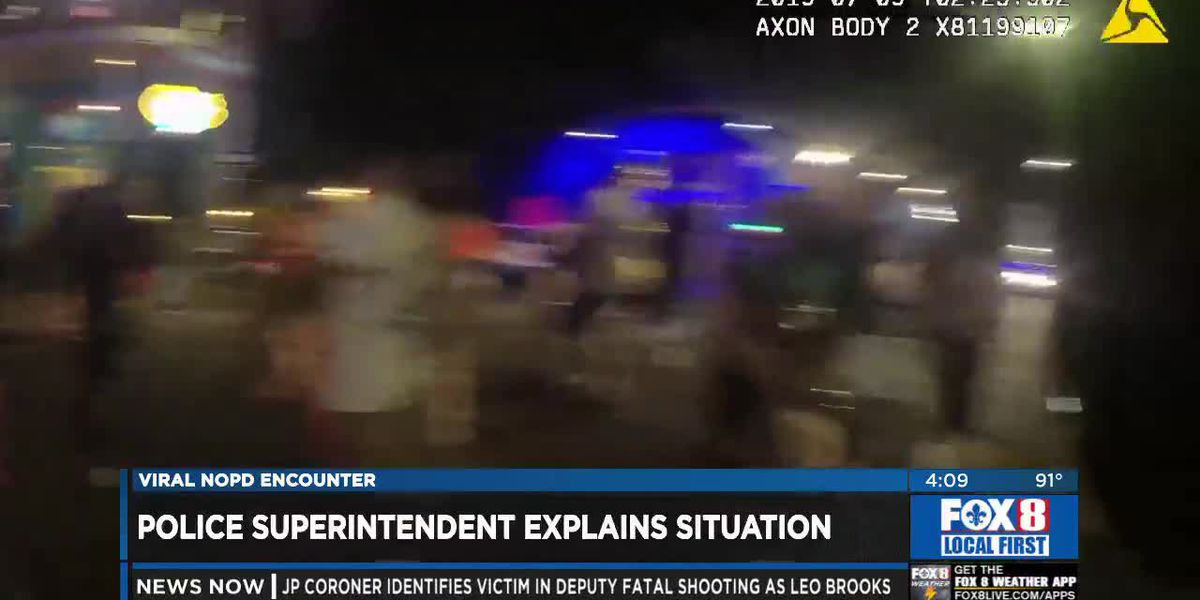NOPD Releases Body Cam of Frenchmen Band Confrontation
