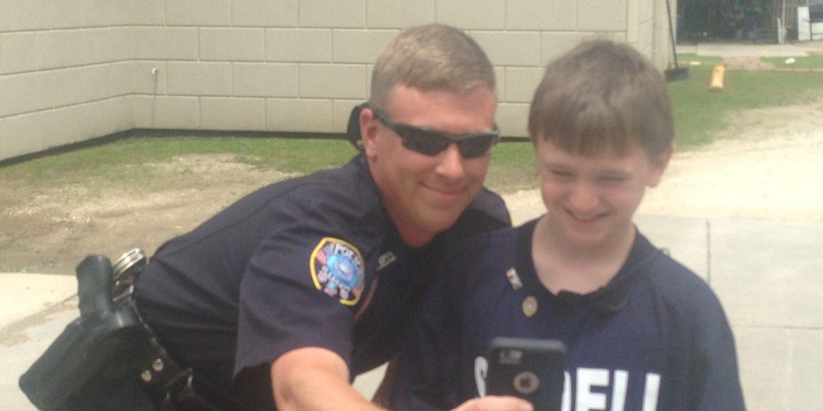 'Police Lives Matter' - Heartwarming gesture lifts spirits of Slidell Officer