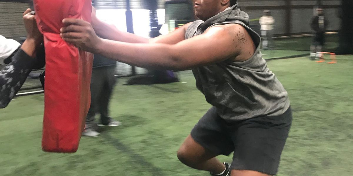 LSU and other big-time programs impressed with DT Maason's Smith size and speed
