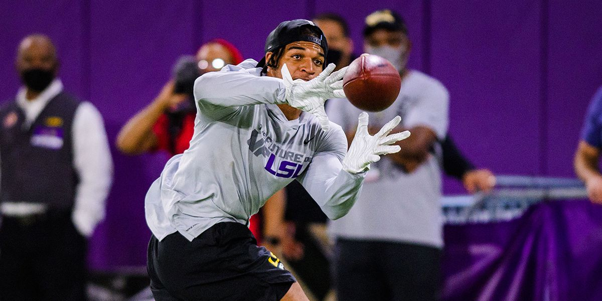Tigers host 2021 LSU Pro Day for 9 former players