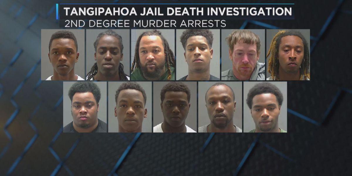 Twelve booked in Tangipahoa jail death