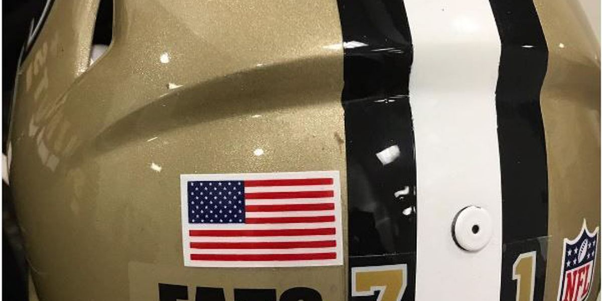 Saints to honor Fats Domino with 'FATS' helmet decal