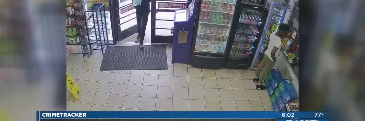 Masked man sought in NOE gas station robbery