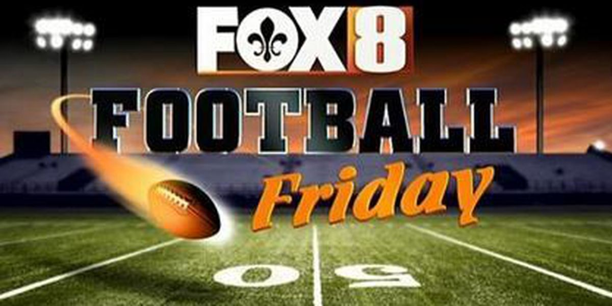 FOX 8 Football Friday: Prep Scores, Week 8