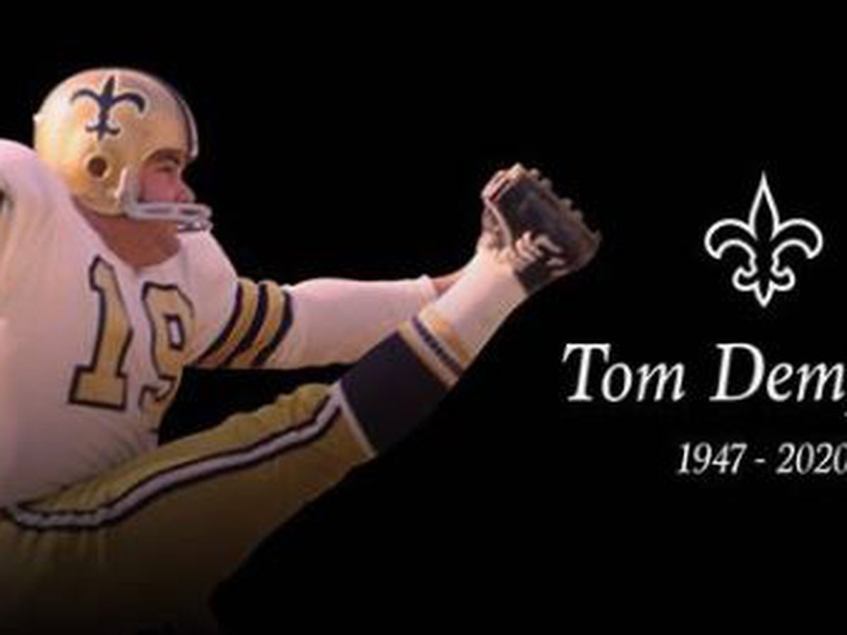 Saints kicker Tom Dempsey is gone, but his legacy lives forever