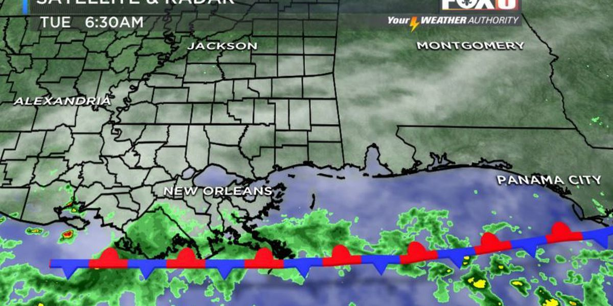 Your Weather Authority: Mostly dry Tuesday