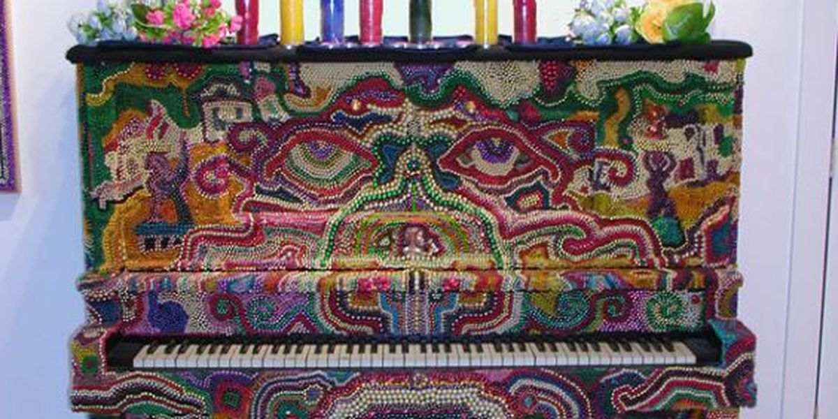 Heart of Louisiana: John Lawson's Bead Art