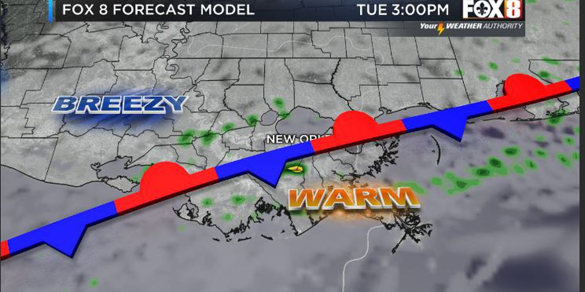 Bruce: Warm With Passing Showers Today-Return to January Tomorrow