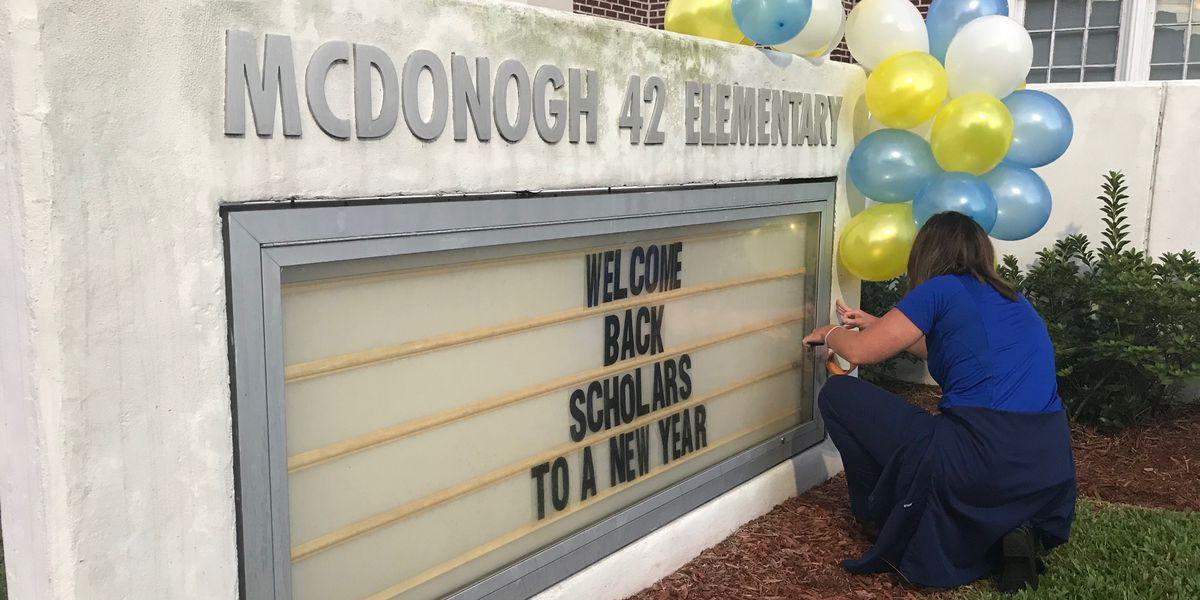 Orleans Parish students begin return to school after delays