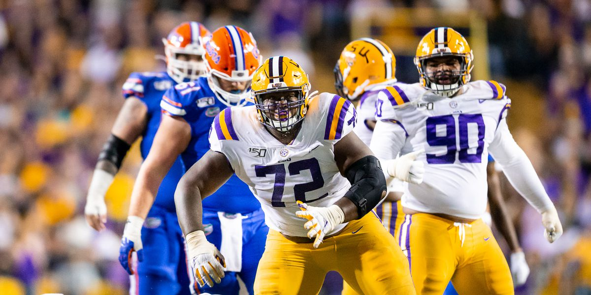 Source: LSU defensive tackle Tyler Shelvin opts out of 2020 season