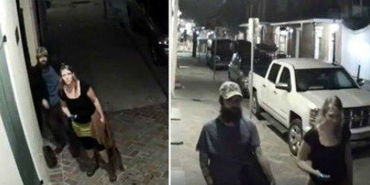 Suspects wanted for stealing manhole cover from the French Quarter
