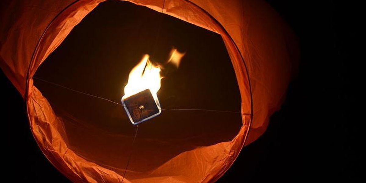 La. Fire Marshal bans sky lanterns