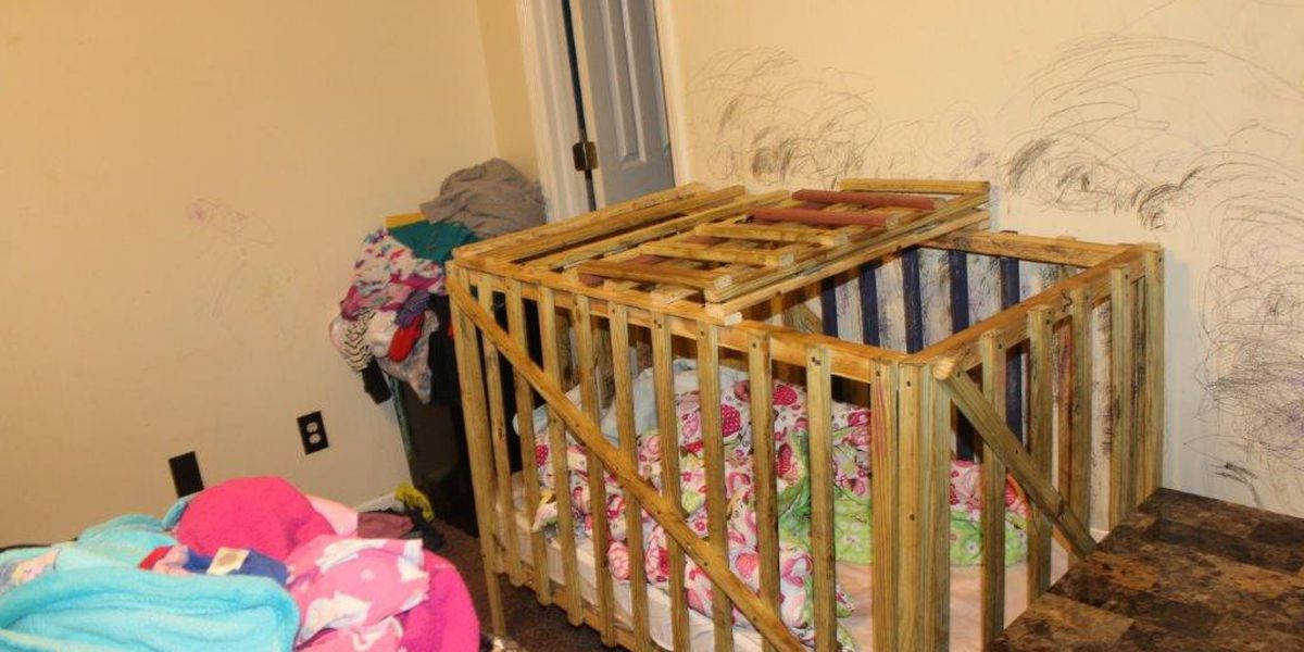 3 arrested after 'cages' for children found in Alabama home