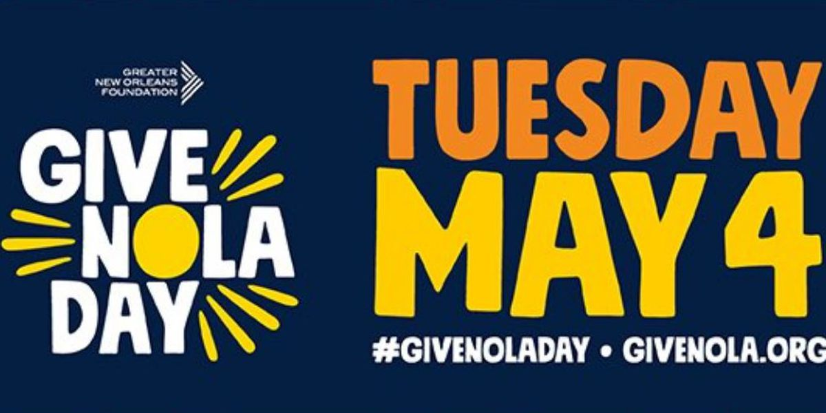It's GiveNOLA Day; donate to your favorite organizations and non-profits