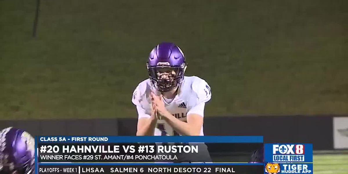 Hahnville's season ends on the road at Ruston