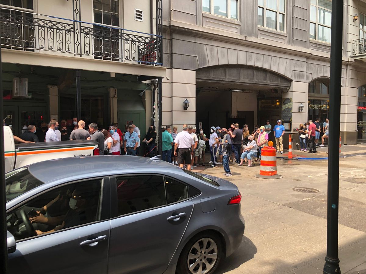 New Orleans hotels begin filling up once again