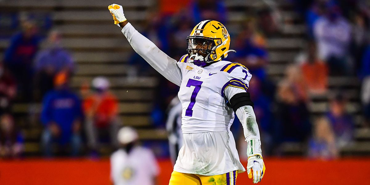 2021 NFL Draft: LSU safety JaCoby Stevens taken in 6th round, No. 224 overall by Philadelphia Eagles