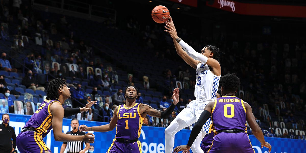 LSU struggles in back-to-back games, losing 82-69 to Kentucky