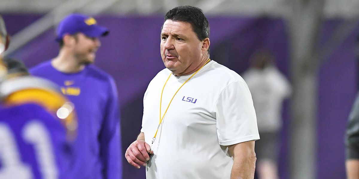 Coach O says LSU's players are energetic and focused