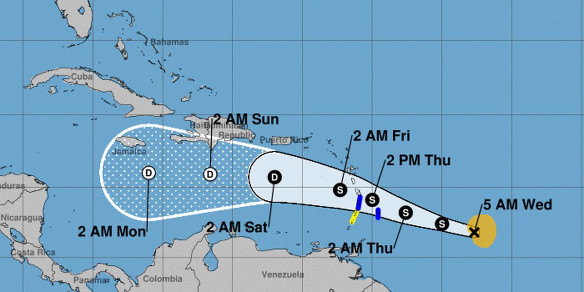 Tropical Storm Kirk reforms, strengthens slightly in Atlantic