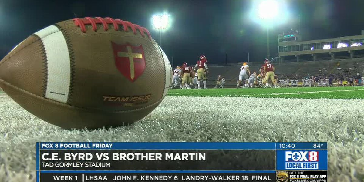 Brother Martin starts 2019 season in domination fashion by shutting out Byrd