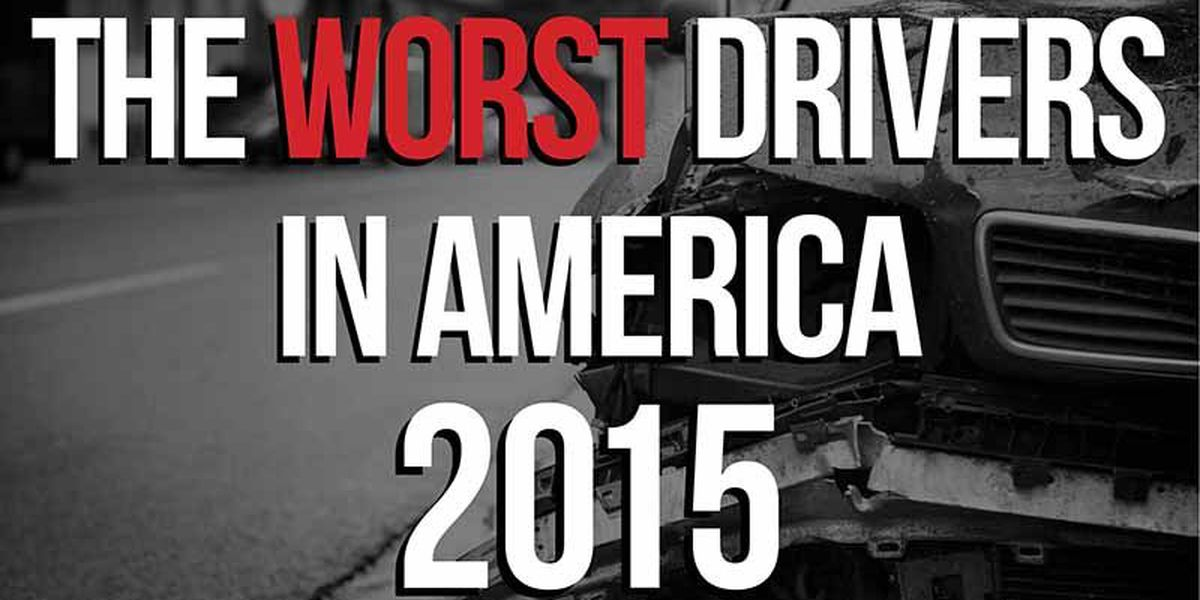SLIDESHOW: The worst drivers in America by state