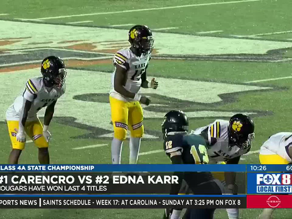 Carencro ends Karr's chances for a 5-peat of state titles