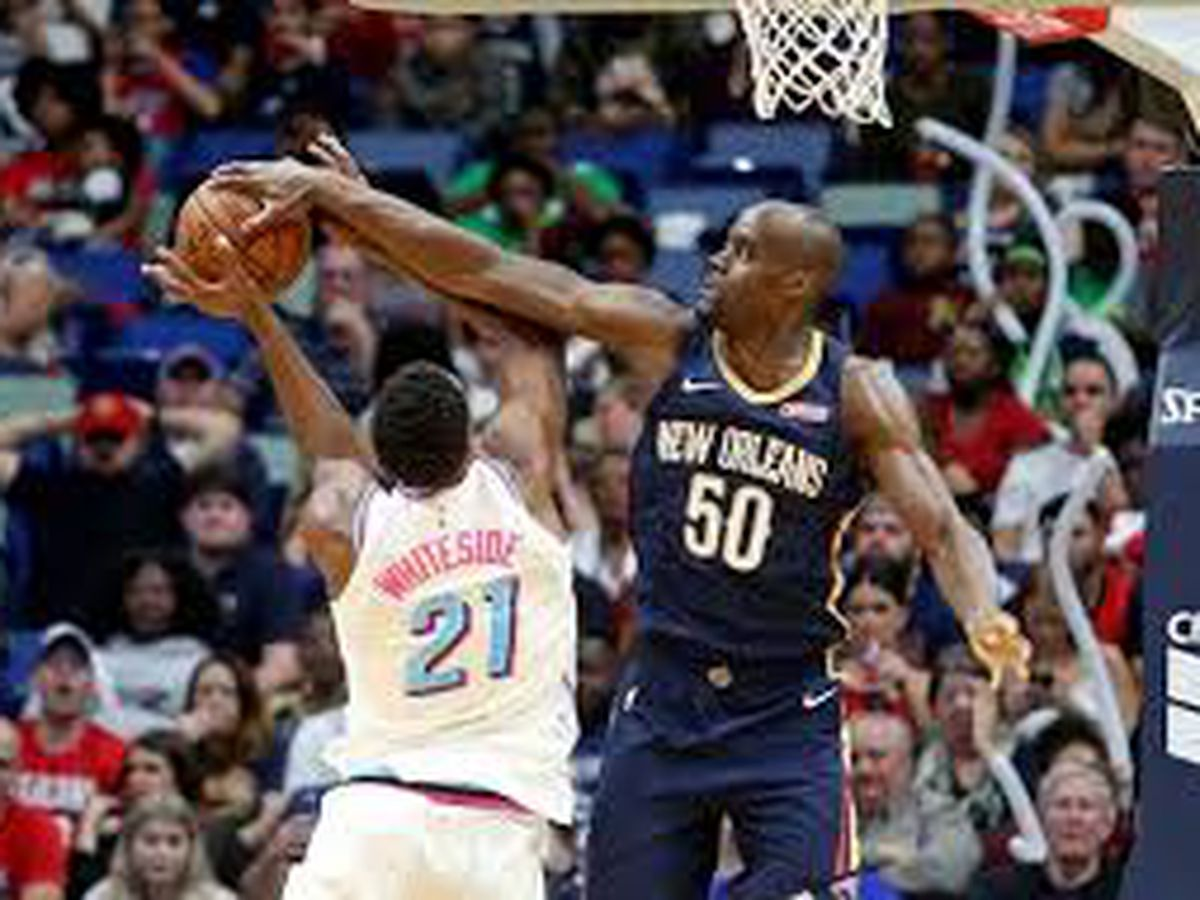 Pels waive center Emeka Okafor
