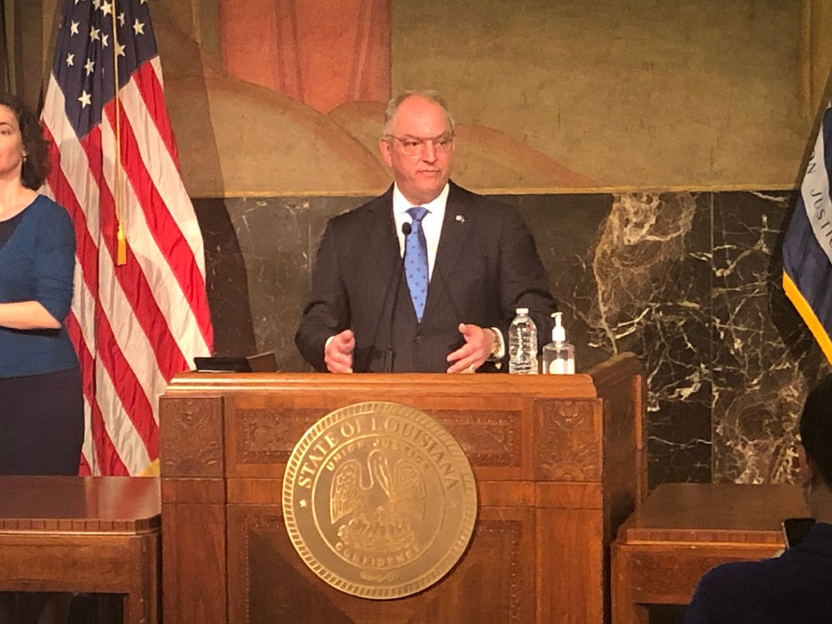 LIVE at 1 p.m.: Gov. Edwards speaking on hurricane recovery in Lake Charles